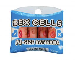 Sex Cells Nsize Batteries 6 pack