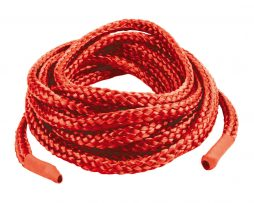 Japanese Silk Love Rope 10ft Red Cuerda Bondage