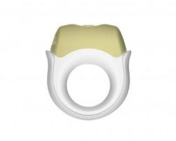 anillo vibrador recargable midnight de topco