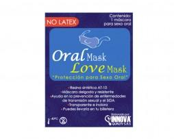 Máscara protectora para sexo Oral