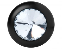 Detalle Plug anal con diamante