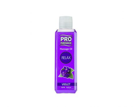 Aceite para masaje violeta Promassage.