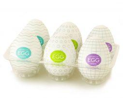 Huevos masturbadores Tenga Egg.