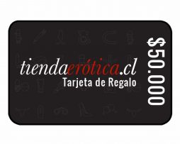 gift card 50mil tiendaerotica.cl.