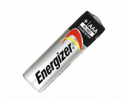 Pila AAA Energizer para juguetes.